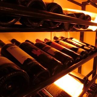 イタリア産のボトルワインを1,000円台からご提供
