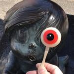 妖怪食品研究所 - 鬼太郎のオブジェと