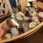 ホテル旬香 鳥取大山リゾート - 舟盛り