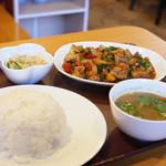 タイ ランナ - 豚肉の辛炒め