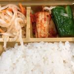 焼肉弁当カルビ亭 - キムチ