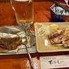 ひがしの - 料理写真:いかわた焼き@300円&焼鳥@300円