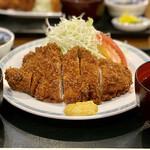 はぎ亭 - 料理写真:トンカツ定食