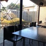cafe空 - うーん、ナナメに撮れてしまってステキ空間が半減に…