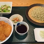 越後長岡 小嶋屋 - タレかつ丼セット