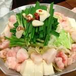 活麺富蔵 - もつ鍋