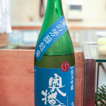 東家 - 奥播磨 夏の芳醇超辛 純米吟醸 生酒 23BY 2012.6.29