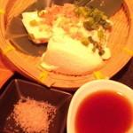 旬采焼五富 - ざる豆腐