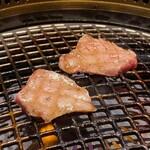 焼肉 徳川苑 - 塩タン厚切り