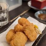 アキバの酒場 - 鮭の白子フライはフワフワでホクホク♪