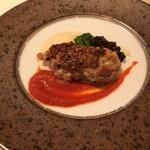 レストラン キルン - 国産鶏モモ肉のマスタードナッツロースト