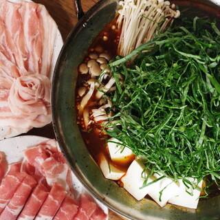 ケール&ラム肉しゃぶしゃぶ贅沢食べ放題コース