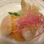 13759249 - 帆立と鎌倉野菜の冷菜