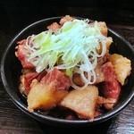 味の王道 - 牛すじ煮込¥350