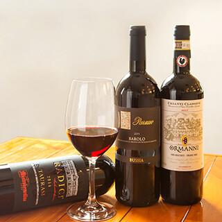 ワインソムリエがお好みと料理に合ったイタリアワインをご提案