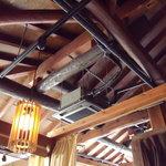 とんくろ - 天井の雰囲気
