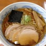 旬麺 - 焼き干しラーメン650円。おいしすぎ。