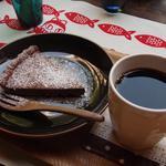 13760391 - チョコタルト&コーヒー850円