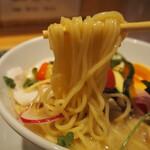 銀座 篝 - 鶏白湯Sobaトリュフ仕立て(麺)