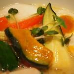 銀座 篝 - 鶏白湯Sobaトリュフ仕立て(野菜)