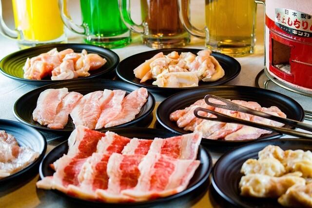 七輪焼肉 安安 下高井戸店の料理の写真