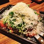 ホナアザブ - HONAtomatoお好み焼き