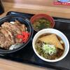 どん亭 - 料理写真:新焼肉セット(きつね)670円