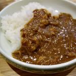 おとなの塩soba  - 大人のカレー(380円税込)