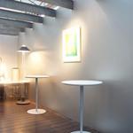 うおがし銘茶 銀座店 茶・銀座 - 3階はスタイリッシュな空間。エアコンはありません。