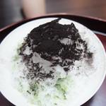 うおがし銘茶 銀座店 茶・銀座 - 男のかき氷♥