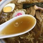 河辺大勝軒 - スープ