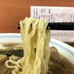 河辺大勝軒 - 草村製麺の麺