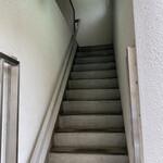 読書珈琲リチル - この階段上る