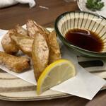 風来坊  - 鶏皮餃子