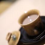 銀座 結絆 - 結絆名物フォアグラの茶碗蒸し