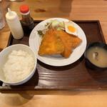 うっちゃり食堂 - アジフライ定食@780
