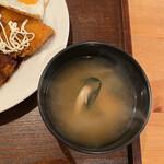 うっちゃり食堂 - 味噌汁
