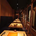 川村料理平 - 最大22名様までのテーブル席