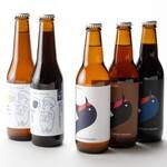 味道源 - 東かがわ市クラフトビール (右)水主ビール (左)つばめビール