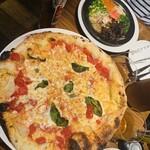 Italian Kitchen VANSAN - たらこパスタ+マルゲリータ