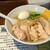 塩生姜らー麺専門店 MANNISH - 料理写真:塩生姜らー麺 肉増し!ド定番☆