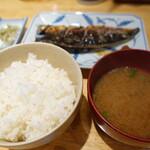 河喜久 - 焼き魚定食