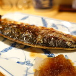 河喜久 - 鯖の塩焼き