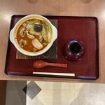 麺工房 - ほうとう。辛くて韓国料理のようです。