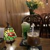 喫茶 蔵 - ドリンク写真:クリームソーダとアイスコーヒー