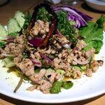 タイ田舎料理 クンヤー - ラープガイ(鶏ひき肉のハーブ和え) 1,250円