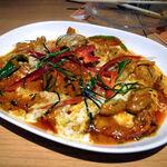 タイ田舎料理 クンヤー - パネーン(豚肉のレッドカレー炒め) 1,350円