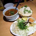 タイ田舎料理 クンヤー - カノムチーン・ナムギョウ(タイの北部のカレーそうめん) 1,200円