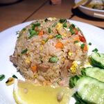 タイ田舎料理 クンヤー - カオパット(豚肉入りチャーハン) 1,100円