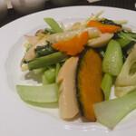 ホテルオークラ レストラン横浜 中国料理 桃源 - 色々野菜炒め 2,640